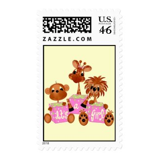It's AGirl! Stamp stamp