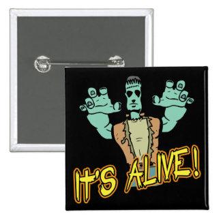 It's Alive Frankenstein Button Pins