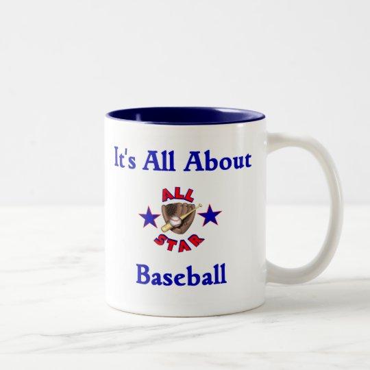 It's All About Baseball Mug