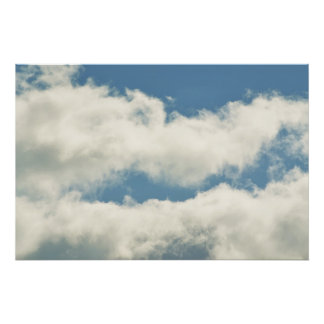 It's All About Clouds Poster