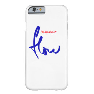 it's all about flow barely there iPhone 6 case