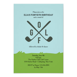 It's All About Golf Invitation