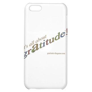 """""""It's all about gratitude!"""" signature collection iPhone 5C Cases"""