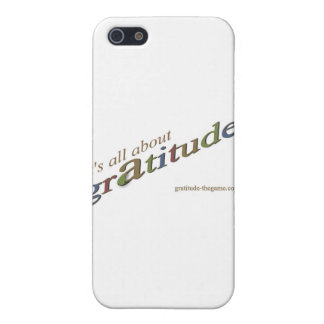 """""""It's all about gratitude!"""" signature collection Cases For iPhone 5"""
