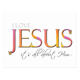 It's All About Him Postcards