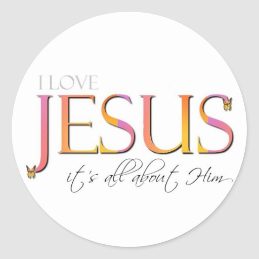 It's All About Him Stickers