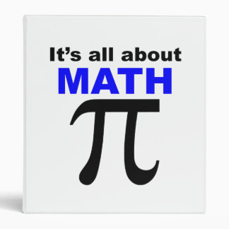 It's All About Math 3 Ring Binders