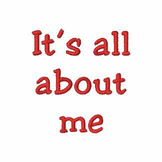 It's all about me AA Fleece Zip Hoodie