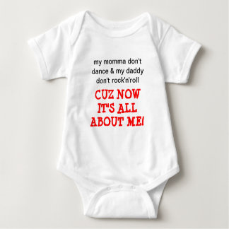 It's All About Me Baby Sleeper Baby Bodysuit