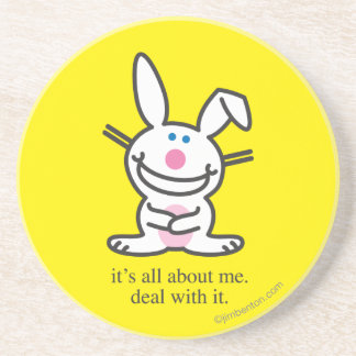 It's All About Me Drink Coaster