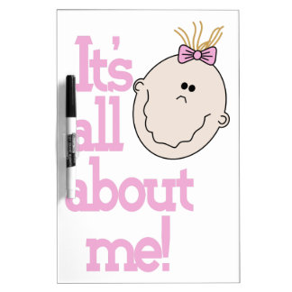 Its All About Me! Dry-Erase Board