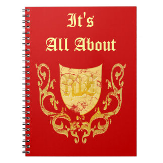 It's All About Me Notebook/Diary Notebook