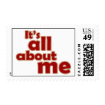 It's All About Me Postage
