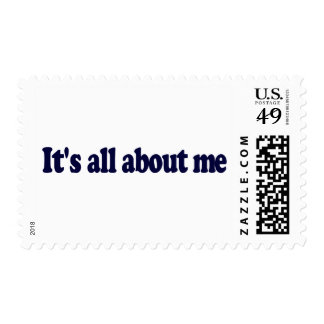 It'S All About Me Postage Stamps