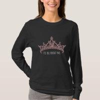 'It's All About Me' Rhinestone Tiara T-shirt