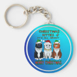 It's All About Merry Christmas Keychain