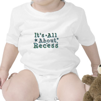 It's All About Recess Shirt