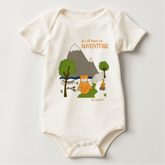 It's All About the Adventure Baby Bodysuit