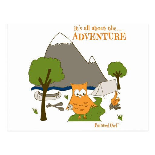 It's All About the Adventure Post Cards