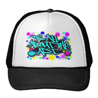 ITS ALL ABOUT THE ART3 babyblue.svg Trucker Hat