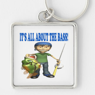 Its All About The Bass Key Chain