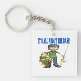 Its All About The Bass Acrylic Key Chains
