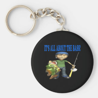 Its All About The Bass Keychain