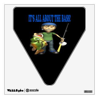 Its All About The Bass Wall Sticker