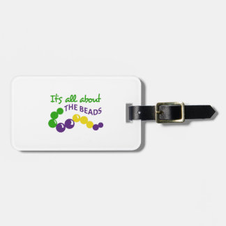 ITS ALL ABOUT THE BEADS BAG TAGS