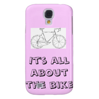 It's all about the Bike - Pink Samsung Galaxy S4 Cover