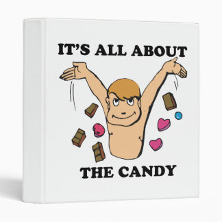 its all about the candy vinyl binders