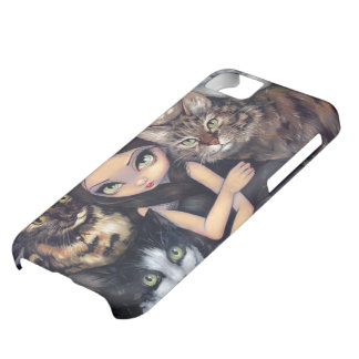"""""""It's All About the Cats"""" iPhone 5 Case"""
