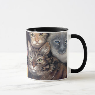 """""""It's All About the Cats"""" Mug"""