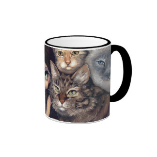 """It's All About the Cats"" Mug"