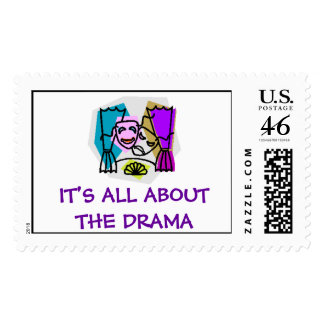 IT'S ALL ABOUT THE DRAMA stamp