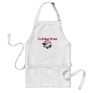 its' all about the food food truck apron