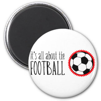 It's All About the Football Magnet