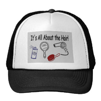 It's All About the Hair! Trucker Hat