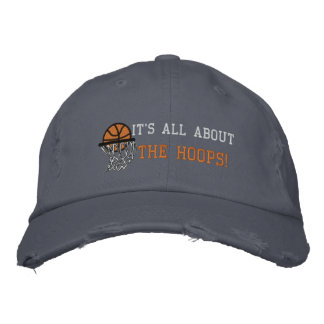 IT'S ALL ABOUT THE HOOPS! EMBROIDERED HAT