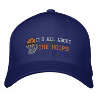 IT'S ALL ABOUT THE HOOPS! EMBROIDERED HATS