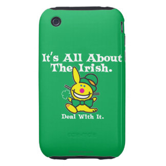 It's All About The Irish (green) iPhone 3 Tough Cover