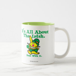 It's All About The Irish Two-Tone Coffee Mug
