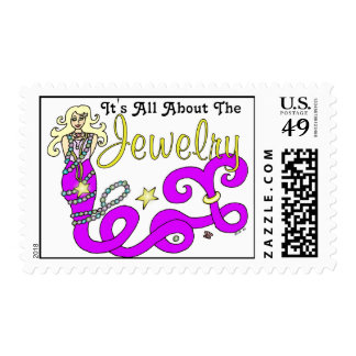 (It's All About The) Jewelry Mermaid Stamp