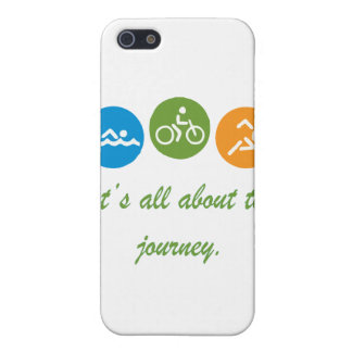 It's all about the journey - Triathlon iPhone SE/5/5s Case