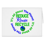 Its All About The Planet Reduce Reuse Recycle v1 Cards