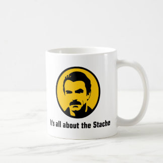 It's All About the Stache Coffee Mug