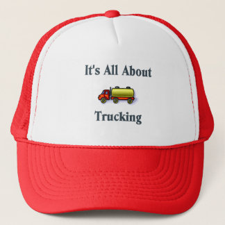 It's All About Trucking. Truck Driver Hat