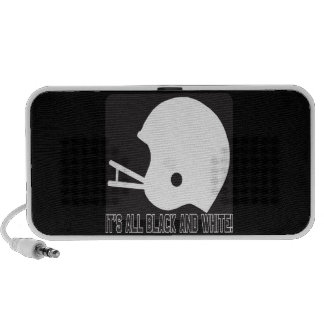 Its All Black And White Mp3 Speakers