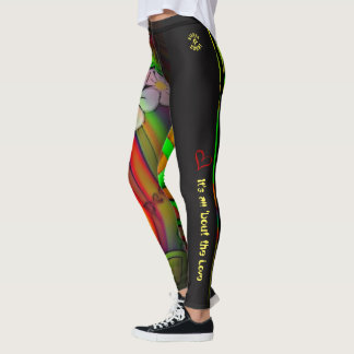 """""""it's all 'bout the Love"""" Leggings"""