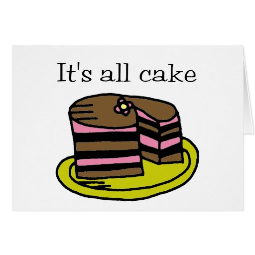 It's All Cake! Card